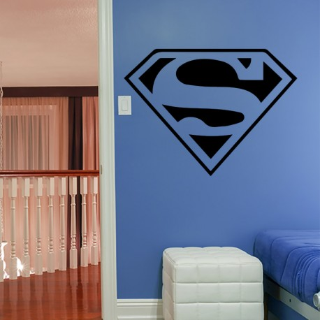 Sticker superman