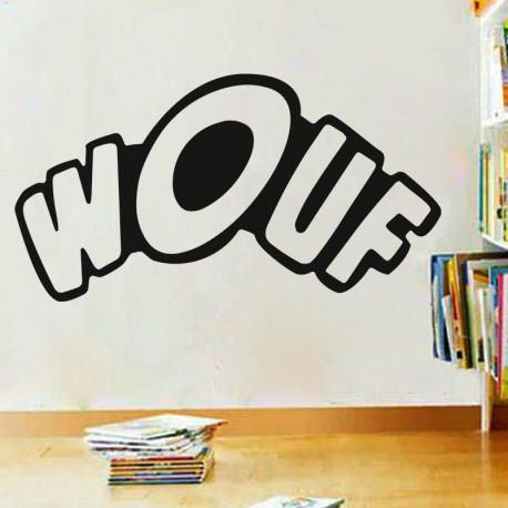 """Sticker """"Wouf"""""""