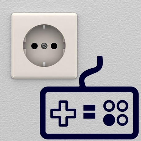 Sticker manette