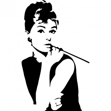 Sticker Audrey Hepburn