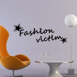 Sticker Fashion victim