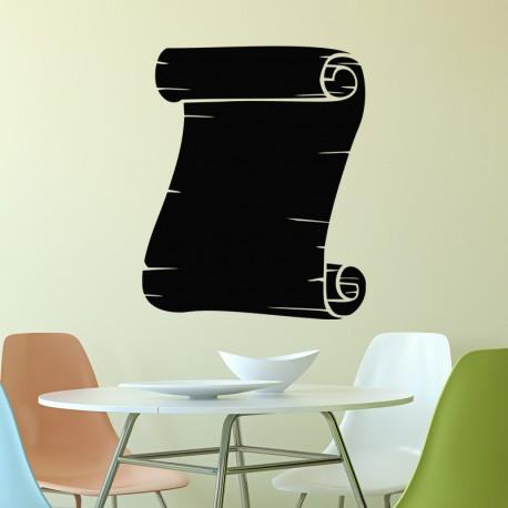 Sticker ardoise Design lettre