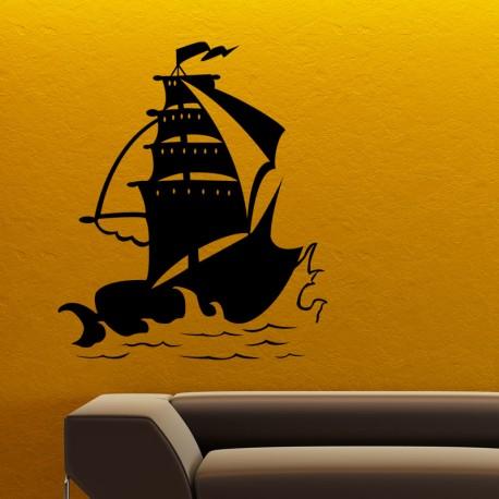 Sticker Design navire