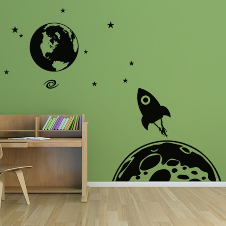 Sticker L'univers