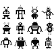 Sticker type de robots