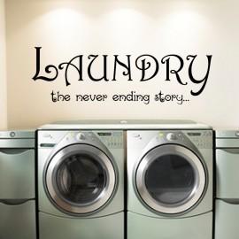 Sticker Laundry the never ending story...