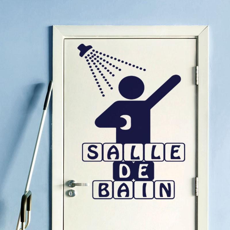 Sticker salle de bain for Stickers salle de bain enfant
