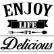 Sticker Enjoy life