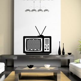 Sticker télévision