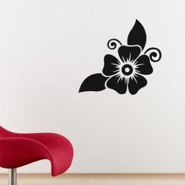 Sticker jolie fleur