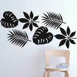 Sticker type de feuilles