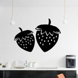 Sticker 2 fraises