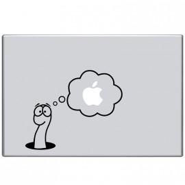Sticker Serpent et pomme