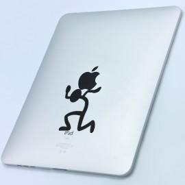 Sticker L'homme et la pomme 2
