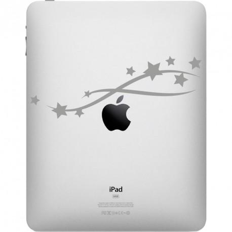Sticker Étoiles volantes décoration pour iPad ou MacBook