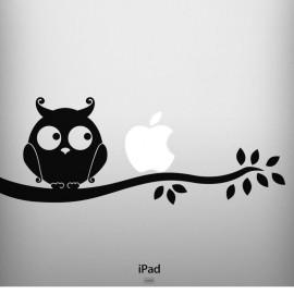 Sticker Silhouette hibou