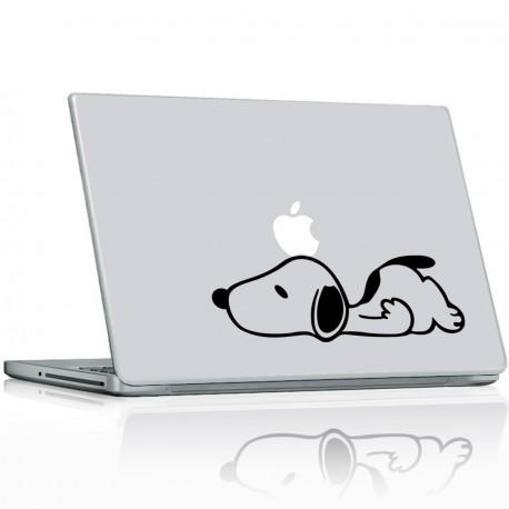 Stickers PC & Mac Snoopy Pomme sur la Tête