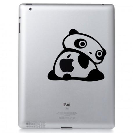 Sticker Panda tourne autour