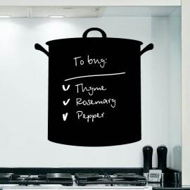 Sticker Ardoise cuisinière