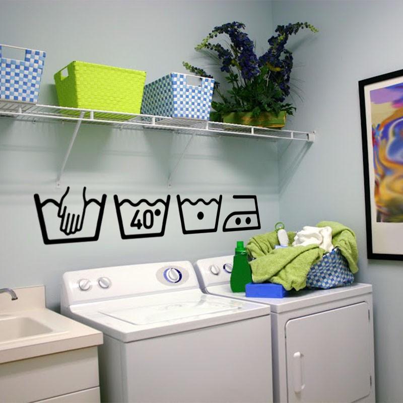 Sticker instruction de lavage - Instructions de lavage symboles ...