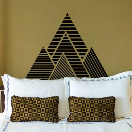 Sticker pyramides