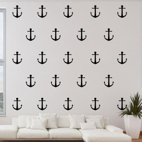 Sticker ancres de bateau
