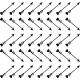 Sticker flèches de cupidon