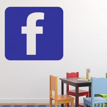 Sticker symbole facebook
