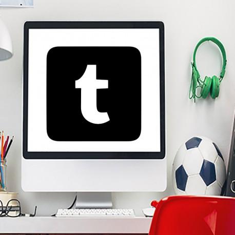 Sticker symbole Tumblr