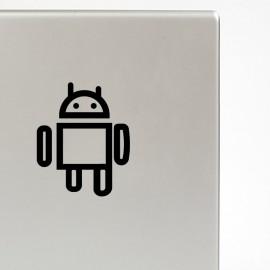 Stickker symbole androïd