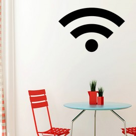 Sticker symbole wifi
