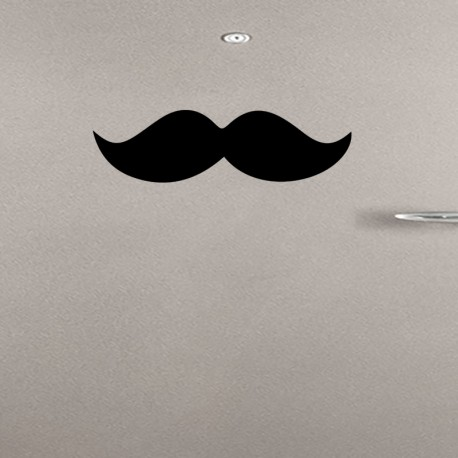 Sticker moustache