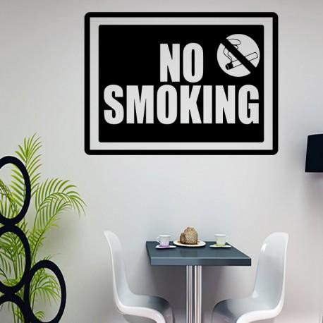 Sticker no smoking