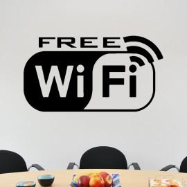 Sticker free wifi