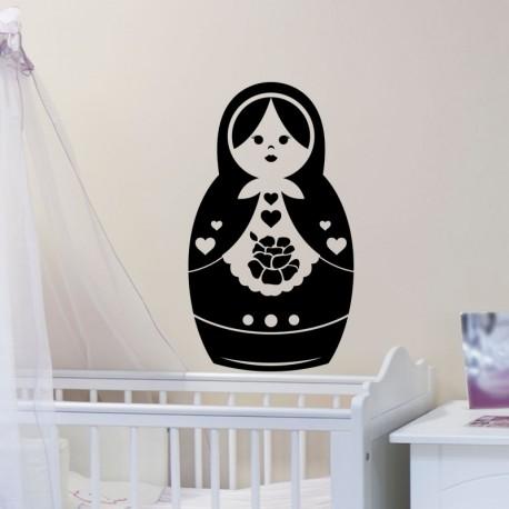 Sticker poupée Russe