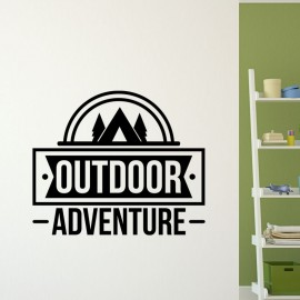 Sticker outdoor adventure