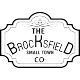 Sticker thee brocksfield small town CO