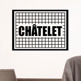 Sticker châtelet