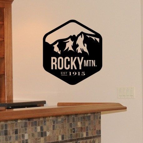 Sticker Rocky MTN Est 1915