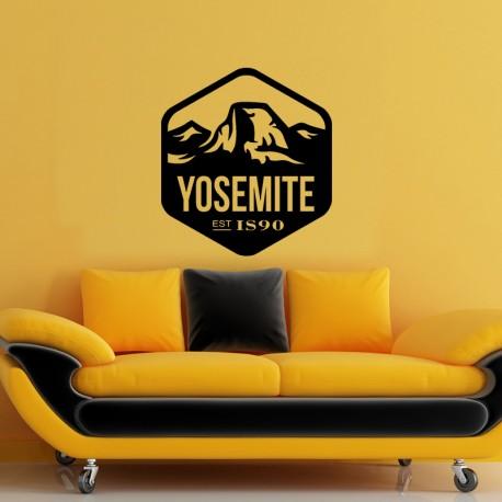 Sticker Yosemite Est IS90