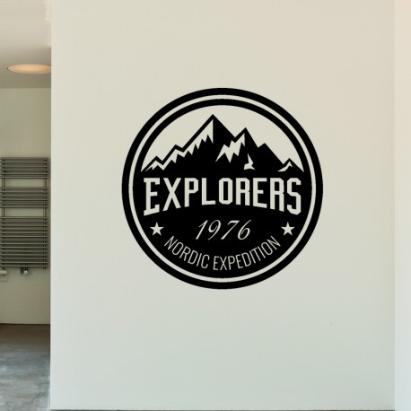 Sticker Explorers 1976 nordic expedition