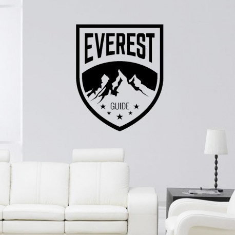 Sticker Everest guide