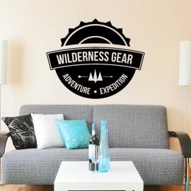 Sticker Wilderness gear
