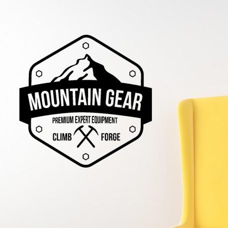 Sticker Mountain gear