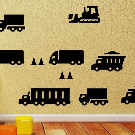 Sticker jouets de construction