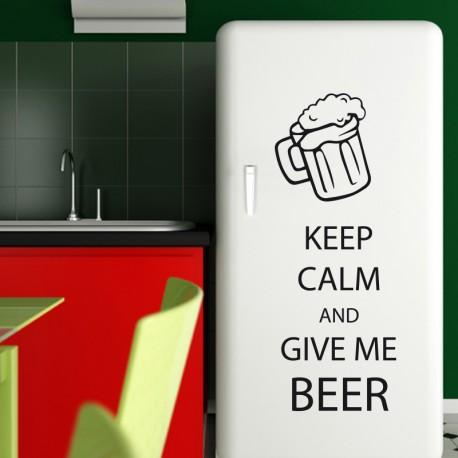 Sticker déco Keep me beer