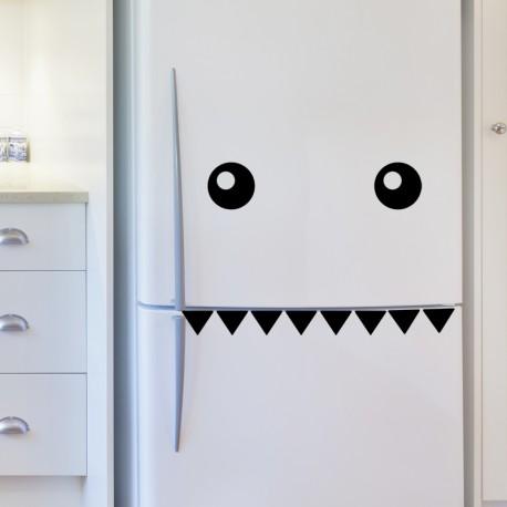 Sticker déco Dents