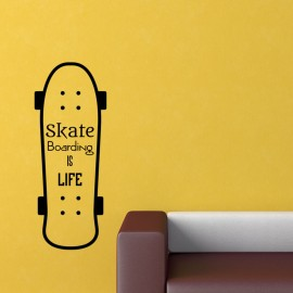Sticker skate boarding is life