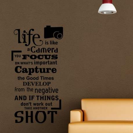 Sticker life is a camera