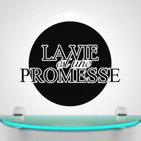 Sticker la vie est une promesse